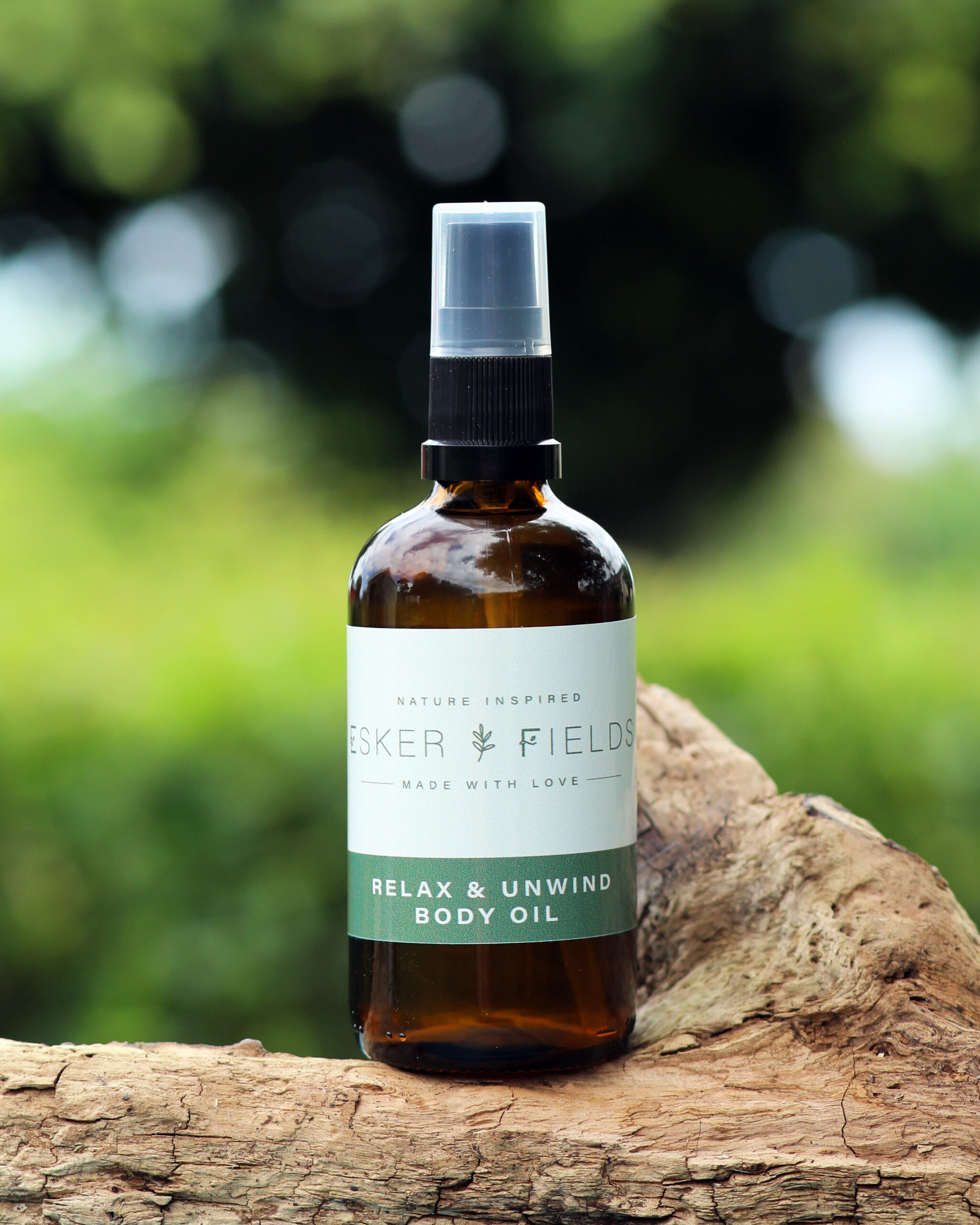 Esker Fields Relax & Unwind body oil