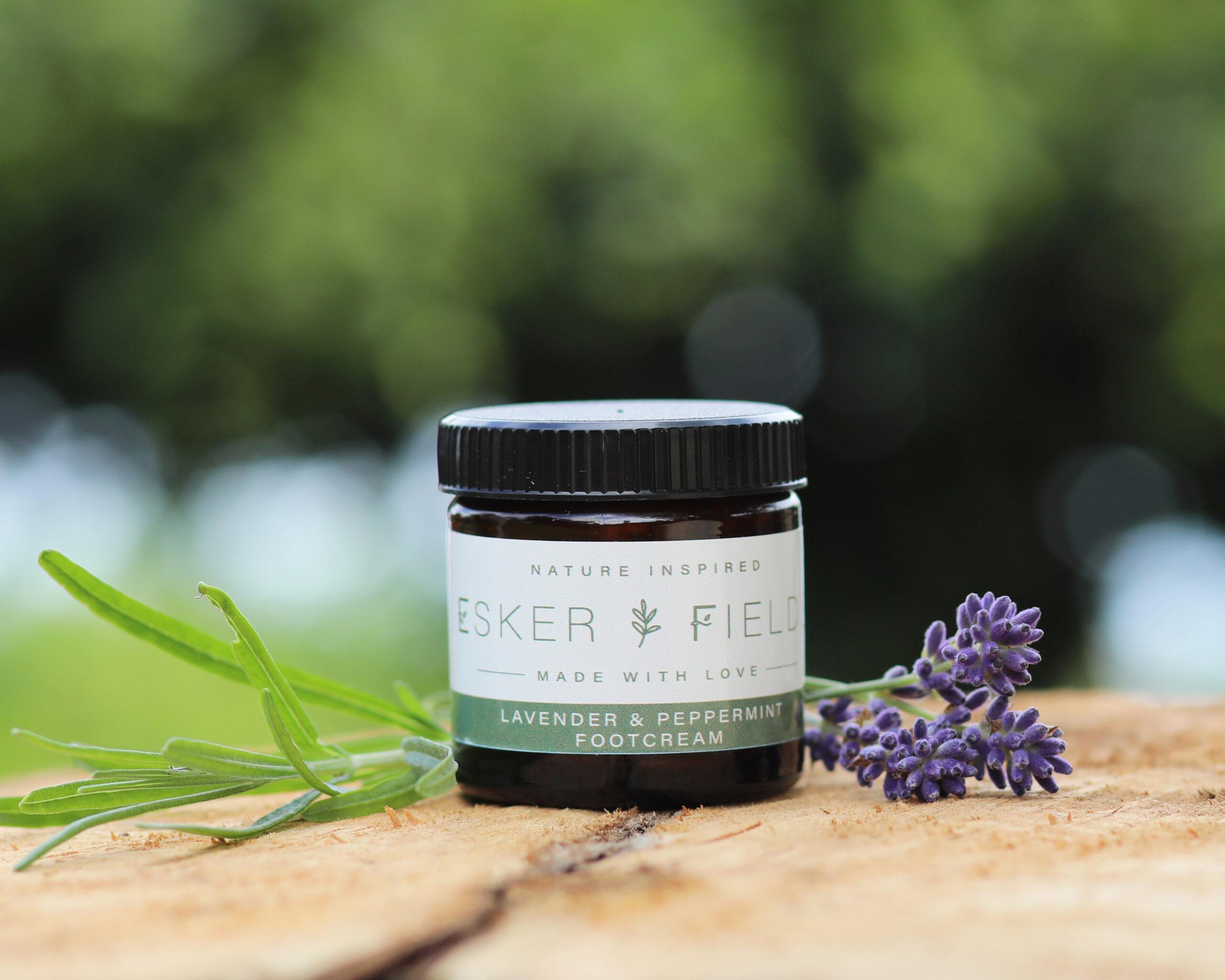 Esker Fields Lavender & Peppermint Footcream