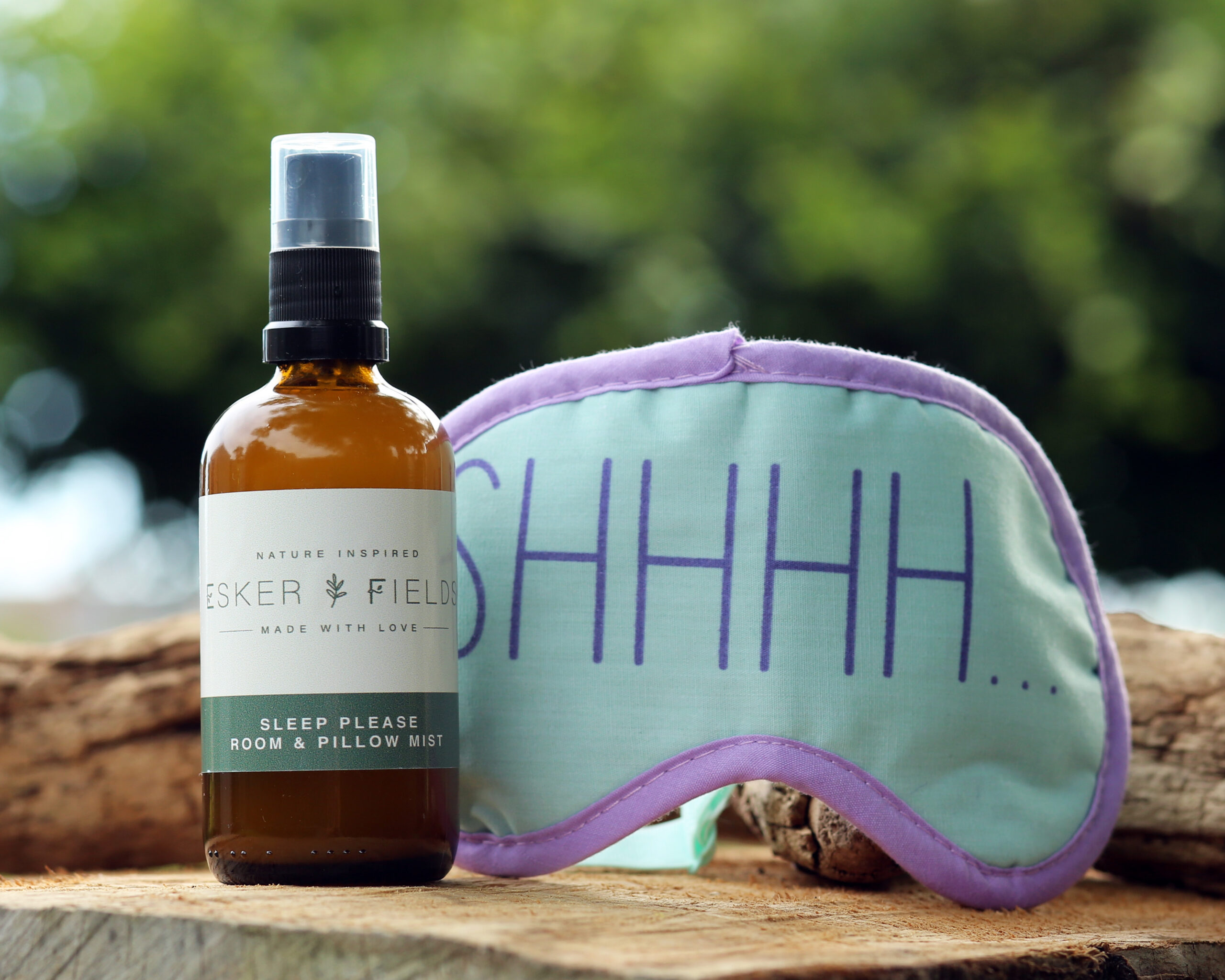Pillow Spray & Eye mask Gift Set