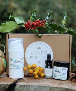Natural Skincare Esker Fields Christmas Gift Set